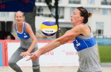 Фото первого матча основной сетки украинской пары Давидова\Щипкова на Sochi Open-2016 пляжный волейбол, женщины, сочи, украина