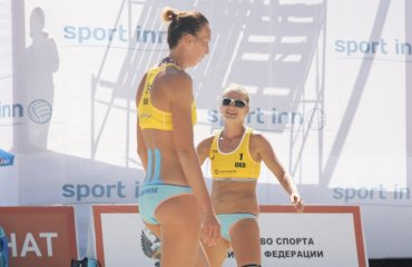Фото третьего матча основной сетки Sochi Open - украинская пара Давидова\Щипкова пляжный волейбол, женщины, сочи, украина, фото