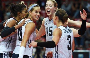 Стал известен предварительный состав женской сборной США на Гран-при волейбол, женщины, сборная, сша