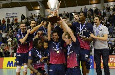 «Пари Воллей» — чемпион Франции волейбол, мужчины, франция