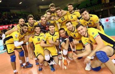 Спустя 14 лет «Модена» вновь стала чемпионом Италии + ВИДЕО волейбол, мужчины, италия