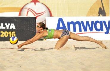 Фото матчей квалификационного раунда Antalya Open с участием украинской пары Ирины и Инны Махно пляжный волейбол, женщины, фото, украина, анталья