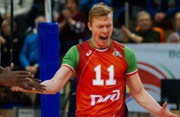 Денис Земчёнок заменил Полетаева в казанском «Зените» волейбол, мужчины, суперлига, россия