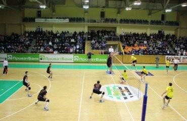 «Барком» поступився «Юракадемії» волейбол, мужчины, суперлига, украина