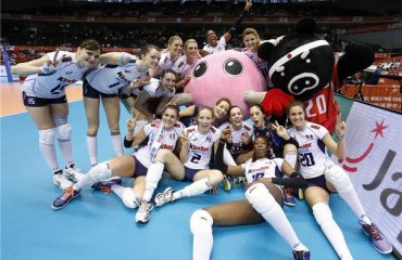 Сборные Италии и Таиланда с побед стартовали в мировой олимпийской квалификации волейбол, женщины, олимпиада