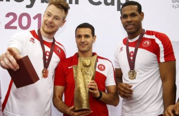 «Аль-Араби» выиграл Кубок эмира, Иван Зайцев – MVP волейбол, мужчины