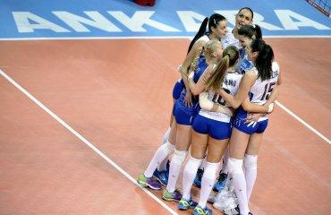 Маричев вызвал 16 волейболисток на сбор сборной России в Анапе сборная России