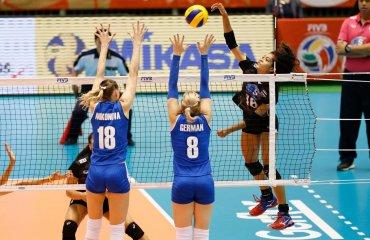 Женская сборная Казахстана по волейболу в трех сетах проиграла команде Таиланда на олимпийском отборе в Токио Сборная Казахстана