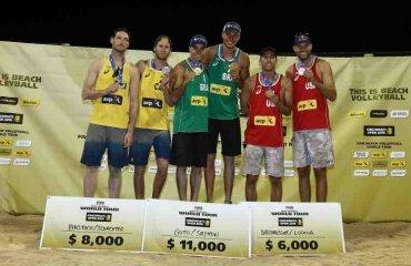 Финалы мужской сетки Cincinnati Open пляжный волейбол, мужчины