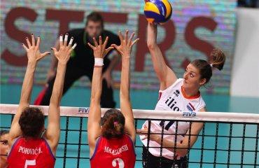 Заключительные игры группового этапа международного турнира Montreux Volley Masters принесли следующие результаты Montreux Volley Masters