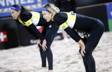 Немецкая женская пара Людвиг и Валкенхорст выиграли чемпионат Европы в Биле Чемпионат Европы