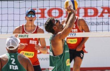 Последний предолимпийский квалификационный турнир FIVB World Tour. Hamburg Major. 7-12 июня пляжный волейбол, мужчины