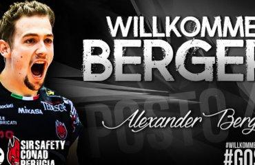 Официально: Перуджа подписывает опытного австрийского доигровщика Александра Бергера Александр Бергер