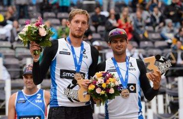 Семёнов и Красильников заняли третье место на «Мейджоре» в Гамбурге Семёнов, Красильников