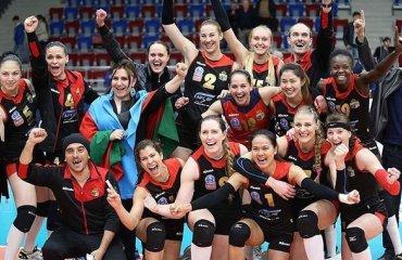 Ряд волейболисток покинули «Азеррейл» из-за сокращения бюджета волейбол, женщины