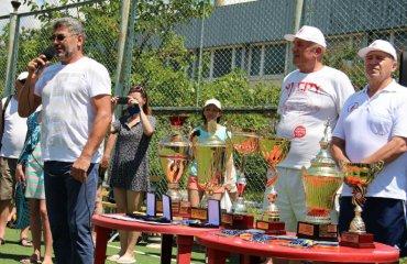 На Кубку України серед ветеранів завершилася перша зміна волейбол, женщины, мужчины, ветераны, украина, турнир, коблево