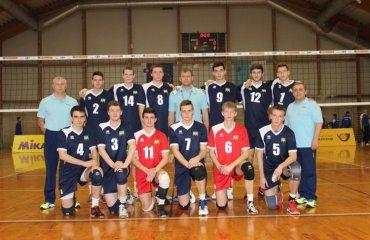 Мужская сборная Украины U20 отправляется в Испанию волейбол, мужчины, сборная, чемпионат европы, u20