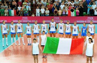 Замена в сборной Италии - вместо Валентины Диуф на Олимпиаду едет Алессия Дженнари сборная Италии
