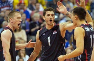 Группа А мужского волейбольного турнира. Главные претенденты на выход из группы. Часть II - Сборная США сборная США