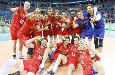 Группа А мужского волейбольного турнира. Главные претенденты на выход из группы. Часть IV - Сборная Франции Сборная Франции