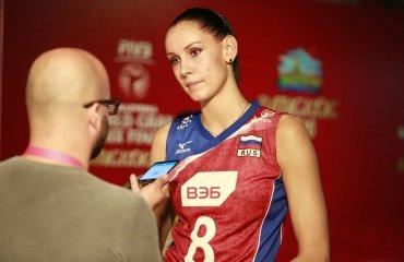 Гончарова: российским волейболисткам по силам бороться за олимпийское золото