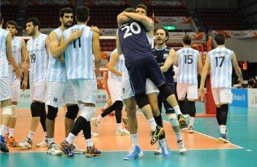 Группа В мужского волейбольного турнира. Главные претенденты на выход из группы. Часть II - сборная Аргентины Сборная Аргентины