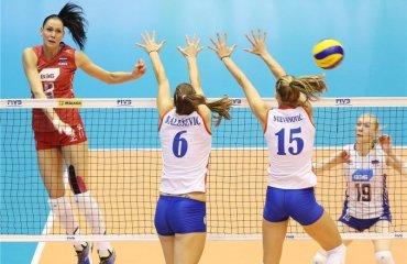 Волейболистки сборной России обыграли Сербию накануне старта Олимпийских игр сборная России