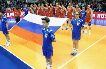 Мужская сборная России по волейболу обыграла в товарищеском матче сборную Франции сборная России