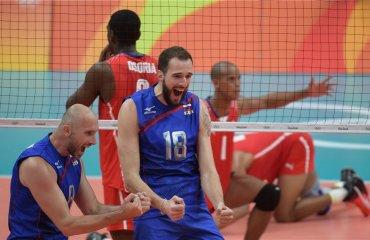 Сборная России обыграла Кубу в стартовом матче волейбольного турнира ОИ сборная России