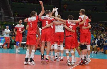 Польские волейболисты обыграли египтян на Олимпийских играх в Рио-де-Жанейро сборная Польши