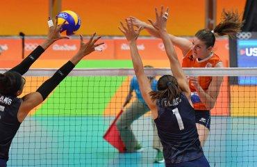 Волейболистки США вырвали победу у Нидерландов на Олимпиаде в Рио-де-Жанейро сборная США