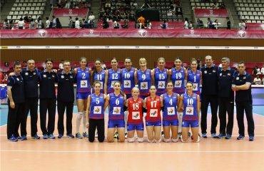 Волейболистки сборной Сербии обыграли команду Пуэрто-Рико в матче ОИ-2016 сборная Сербии