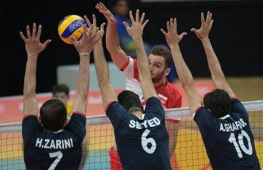 Сборная Польши в тяжелейшем матче вырвала победу у сборной Ирана сборная Польши
