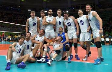 Итальянцы обыграли сборную США на Олимпийских играх сборная Италии
