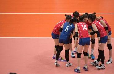 Кореянки победили команду Аргентины в матче Олимпиады Сборная Кореи