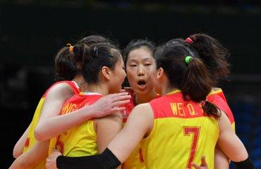 Китаянки обыграли сборную Пуэрто-Рико в трех партиях Сборная Китая
