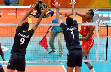 Волейболисты сборной Ирана обыграли кубинцев в матче олимпийского турнира сборная Ирана