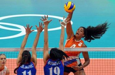 Нидерландки в последнем туре обыграли сербок на ОИ сборная Нидерландов