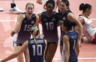 Сборная США по волейболу обыграла команду Китая в четырех партиях на ОИ сборная США