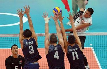 Волейболисты сборной США гарантировали себе место в четвертьфинале Олимпиады сборная США