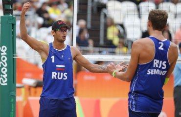 Красильников и Семенов - в полуфинале ОИ в Рио Вячеслав Красильников и Константин Семенов