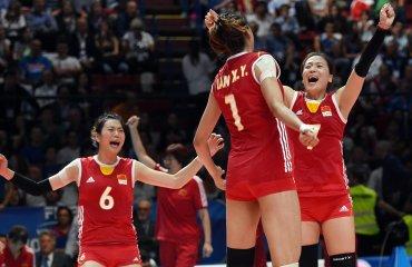 Сборная Китая обыграла бразильянок в матче 1/4 финала Олимпиады женская сборная Бразилии