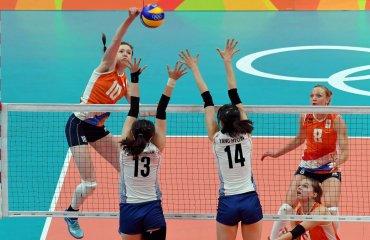 Голландские волейболистки победили кореянок и вышли в полуфинал ОИ Сборная Нидерландов
