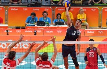 Волейболисты сборной США победили поляков и вышли в полуфинал олимпийского турнира сборная США