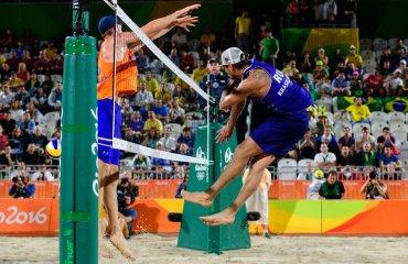 Пляжники Семенов и Красильников не смогли завоевать бронзу на Олимпиаде Семенов и Красильников