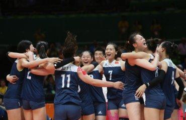 Волейболистки сборной Китая победили команду Нидерландов в полуфинале Олимпиады Сборная Китая