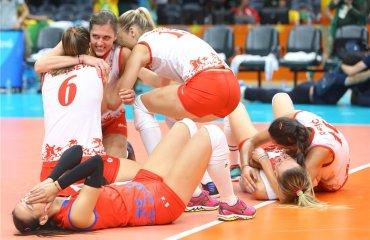 Сербки в финале Олимпиады сборная Сербии