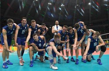Сборная Италии обыгрывает команду США и выходит в финал Олимпийских Игр Олимпийские Игры, Италия, США, Иван Зайцев, Османи Хуанторена, Метт Андерсон