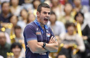 Федерация волейбола Италии хочет сохранить Бленджини на посту наставника сборной Лоренцо Бленджини