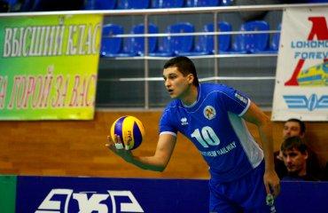 Центральный блокирующий Дмитрий Терёменко продолжит карьеру в «Белогорье» волейбол, мужчины, суперлига, россия, украинец